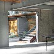 Modern design, poured concrete