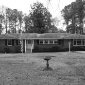 Before photo of ranch home