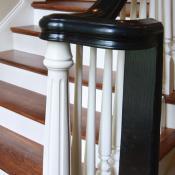 Stairway spindle design