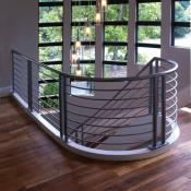 Metal railing styles
