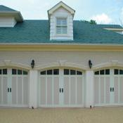 Triple Garage Doors design
