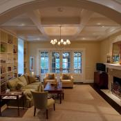 Living room view of remodeled home in Virginia Highlands