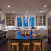 Kitchen view of remodeled home in Virginia Highlands