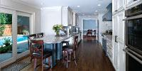 Galley kitchen gets modern update