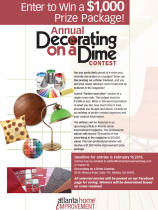 Decorating on a Dime Contest