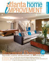 Atlanta Home Improvement November Cover