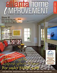 Atlanta Home Improvement magazine January 2015 Cover