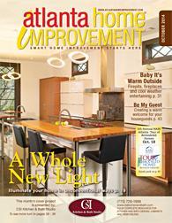 Atlanta Home Improvement magazine Cover - October 2014