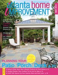 Atlanta Home Improvement magazine May 2014 Cover