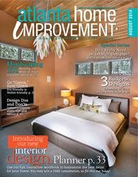 Atlanta Home Improvement August 2014 Cover