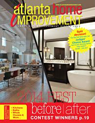 Atlanta Home Improvement magazine 2014 Best of the Best issue