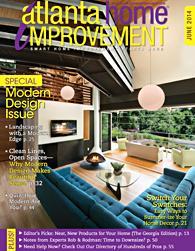 Atlanta Home Improvement June 2014 Magazine Cover