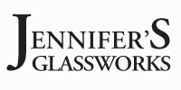 Jennifer's Glassworks logo