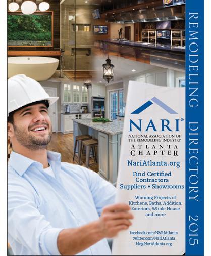 2015 NARI Atlanta Remodeling Directory