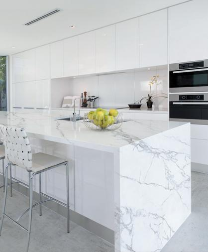 Kitchen featuring Neolith sintered compact surface