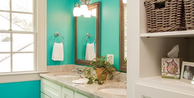 color for bathroom walls