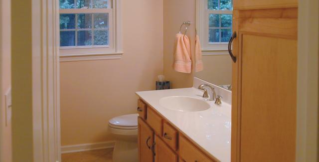 Bathroom - part of attic remodel