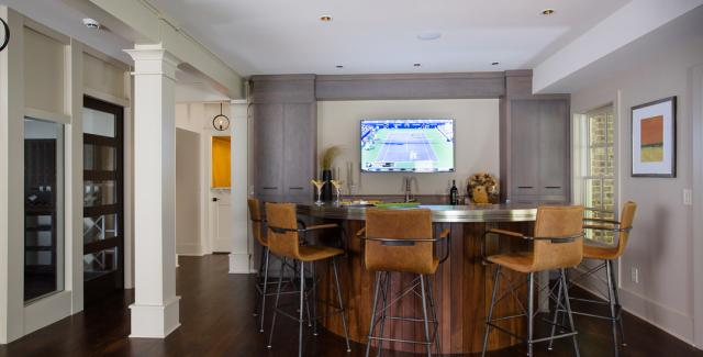 CotY Award Winner - Basement Over $100,000 - Handcrafted Homes, Inc.
