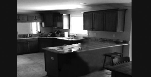 Kitchen remodel - before photo
