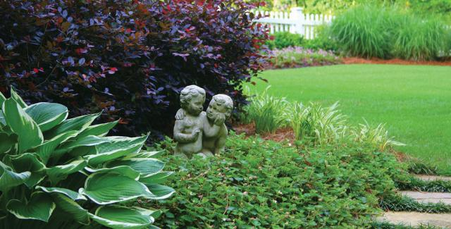 Low maintenance landscaping tips atlanta home improvement for Plants that need little maintenance