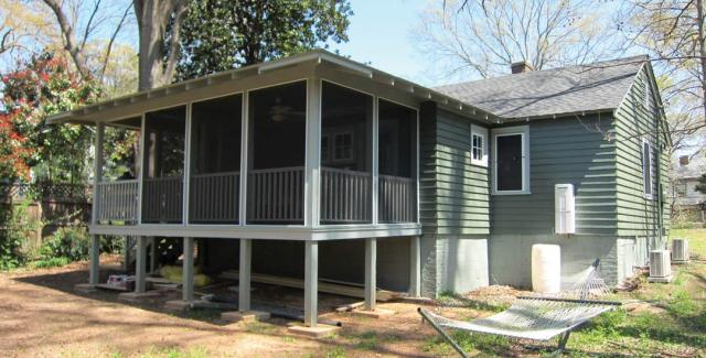 Exterior of Green Remodeled Home