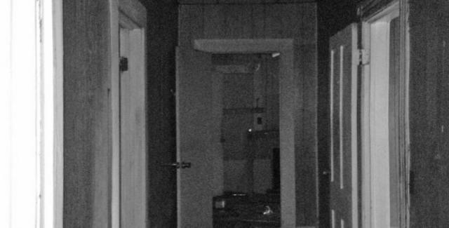 Before photo of cottage interior