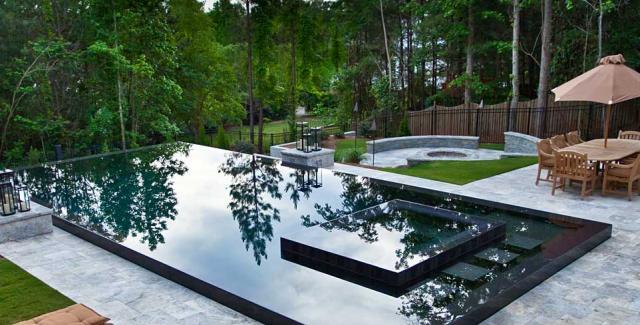 Modern Pool Design Trends Entering Georgia Atlanta Home