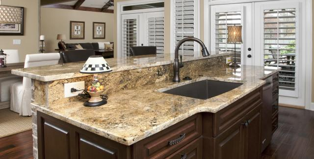 Kitchen Island Sink totally dependable contracting services | atlanta home improvement