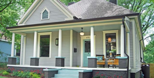 Remodeled cottage in Candler Park