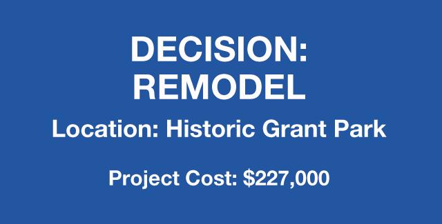 Decision: remodel home in Historic Grant Park