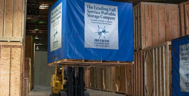 Big Vaults Warehousing Process