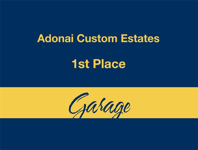 Garage - 1st Place