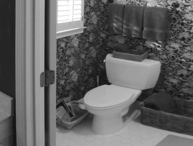 View of previous section of the bathroom