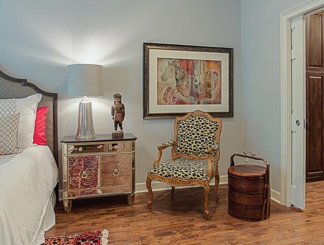 Updated bedroom art and design