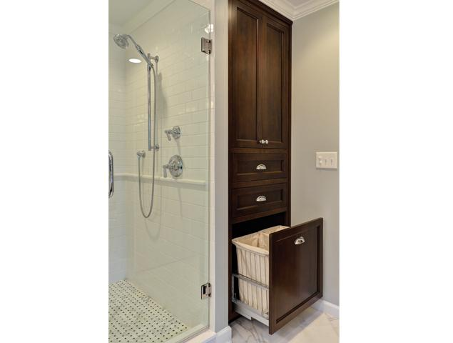 View of extra storage in the bathroom