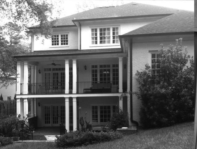 View of previous patio/porch/deck