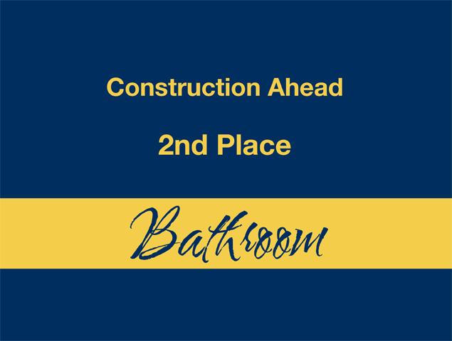 Construction Ahead - 2nd Place