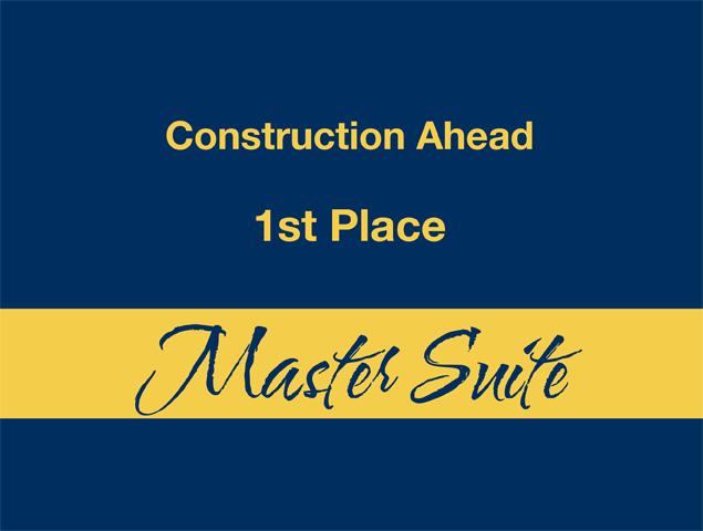 Master Suite - 1st Place