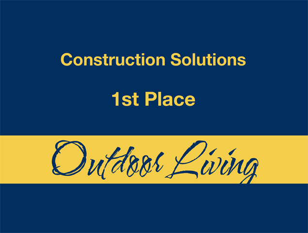 Outdoor Living - 1st Place