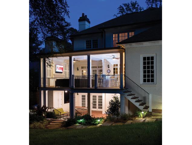 Updated porch