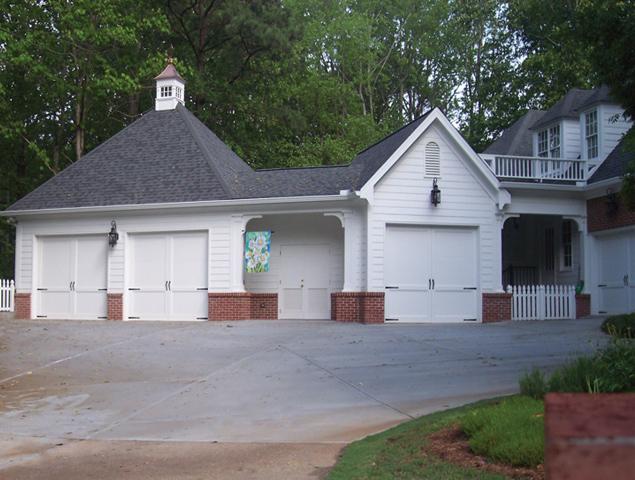New garage addition