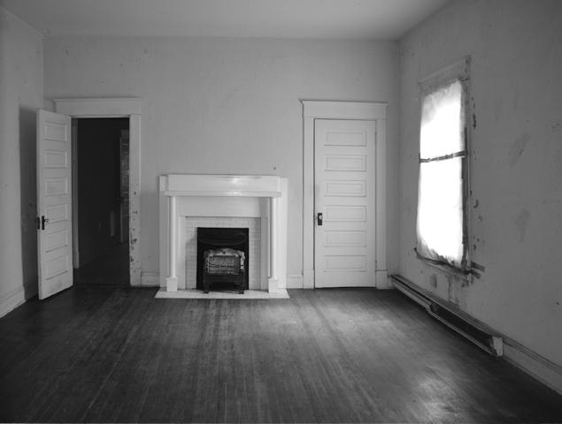 Before view of boxy room