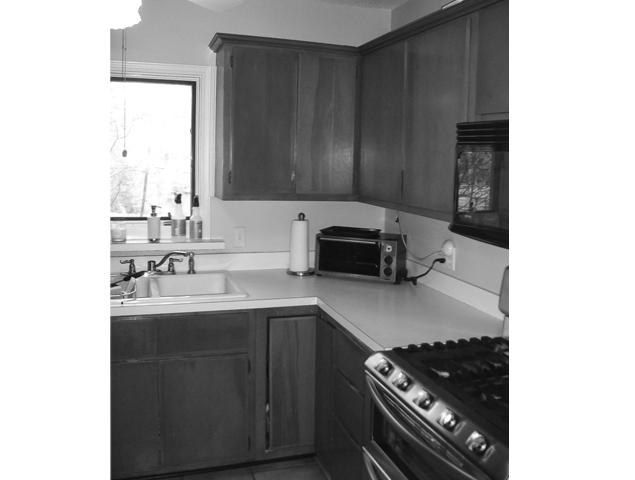 Before view of kitchen