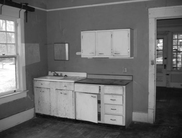 Old outdated kitchen