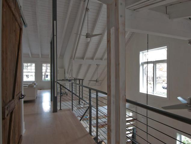 Lofty style upper floor