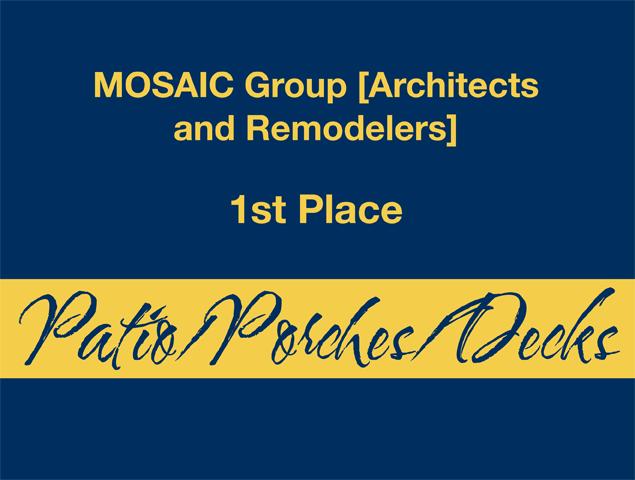 Patio/Porches/Decks - 1st Place