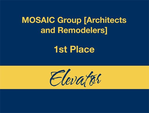 Elevator - 1st Place