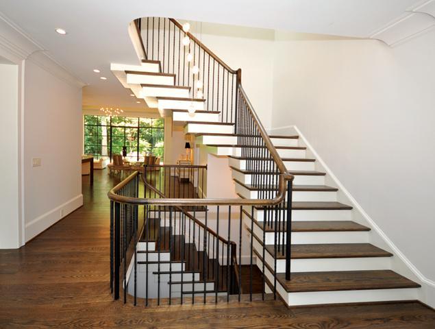 Updated stairway/entryway