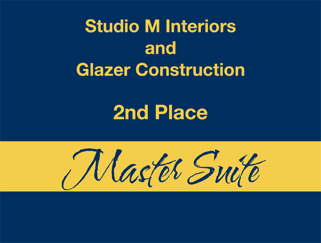 Master Suite - 2nd Place