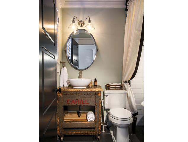 Beautiful historic bathroom